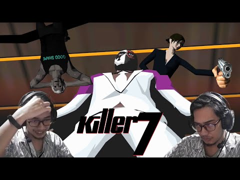 WEIRD. That's it. That's the title | Killer7 |