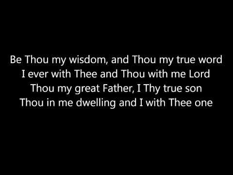 Be Thou My Vision: Michael Card (Lyrics)