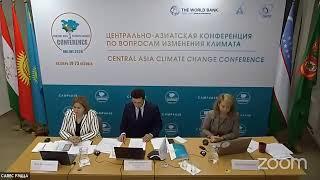 ЦА конференция по изменению климата, 2020 / CA Climate Change Conference, 2020_ 19.10.2020