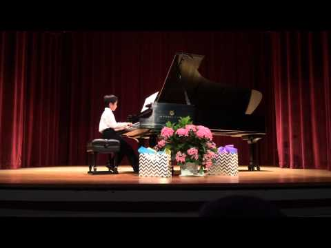 Agent X by Martha Mier, 9 years old, 2nd Piano Recital in the U.S.