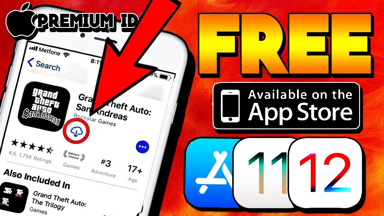 How To DOWNLOAD GTA SAN ANDREAS For FREE From APPSTORE iOS 12/11/10/9