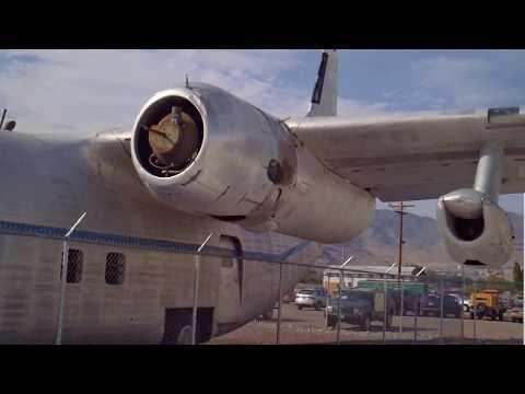 Con Air C-123 Wendover Historic Airfield