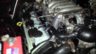 3 2l V6 Amigo Rebuilt Engine First Run