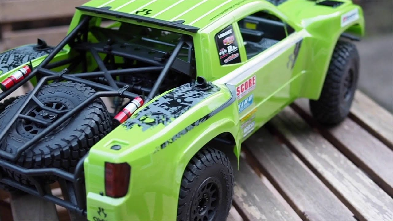 Axial Yeti Score basic painting the wheels body and simple modification