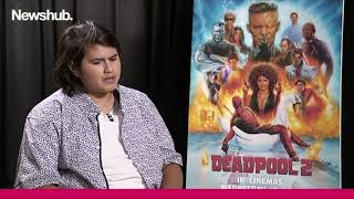 Julian Dennison discuss Deadpool 2 for 16 minutes | Newshub