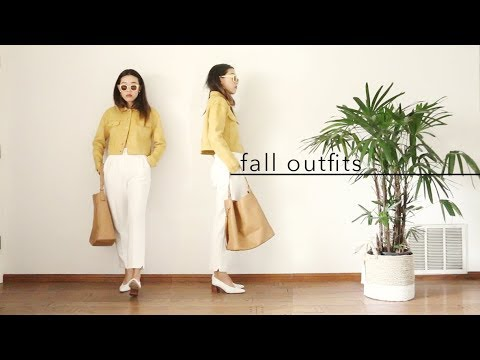 [VIDEO] - Fall Fashion Lookbook 2017 8