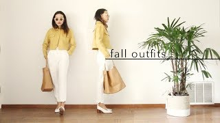 Fall Fashion Lookbook 2017