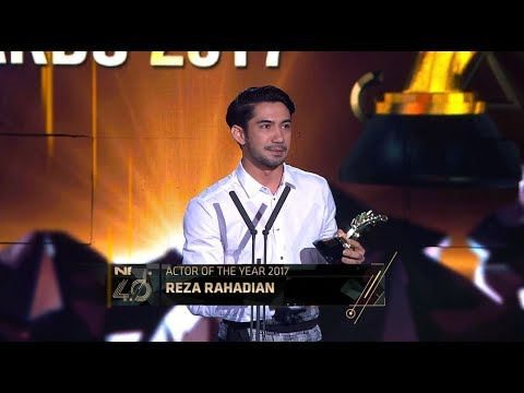 Actor of the Year - Indonesian Choice Awards 2017: Reza Rahadian