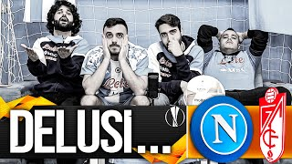😫 DELUSI... NAPOLI 2-1 GRANADA | LIVE REACTION EUROPA LEAGUE NAPOLETANI HD