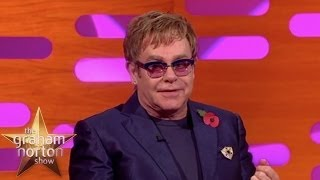 Elton John Dances with the Queen - The Graham Norton Show