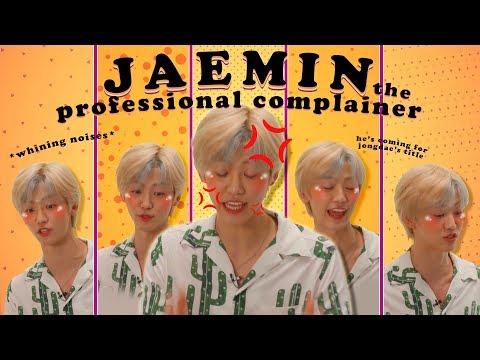 Jaemin, Our Resident Complainer