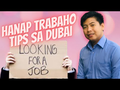 BUHAY OFW VLOG 3 L HOW TO FIND JOB IN DUBAI (TAGALOG)