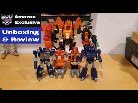 Transformers Predaking Platinum Edition Amazon Exclusive: Unboxing & Review