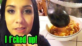 Chicken Tortilla Soup! (kinda) - #tastytuesdays