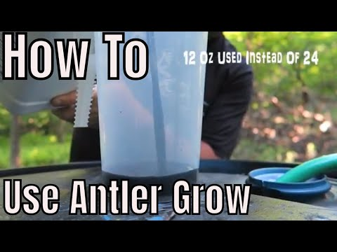learn How To Use Antler Grow On Food Plots!
