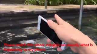 Xperia Z3: Swimming Pool Drop Test: FAIL / FAIL / FAILED!!!!!!!!!!!!