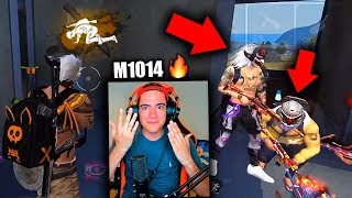 ESTE JUGADOR DE FREE FIRE DICE QUE ES EL MEJOR USANDO LA ESCOPETA M1014  *epico* | TheDonato