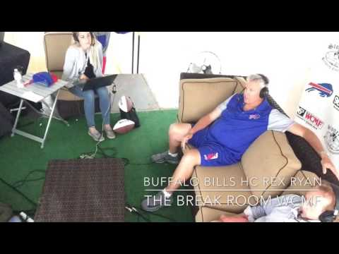 Buffalo Bills HC Rex Ryan In The Break Room