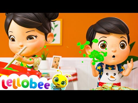 Christmas Cooking Song - Christmas Song for Kids | Nursery Rhymes | ABCs and 123s | Little Baby Bum