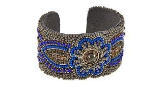 "deepa by Deepa Gurnani  ""Gia"" Beaded Cuff Bracelet"