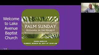 Sunday March 28, 2021