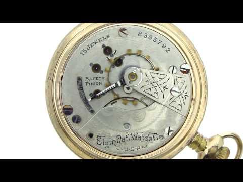 Elgin National Watch Co. Pocket Watch (8385792) c.1899