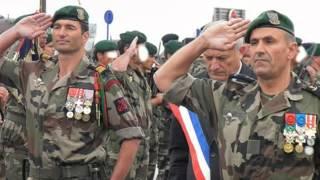 Cérémonie Tradition Ecole des fusiliers marins / Ouistreham / 4 juin 2014