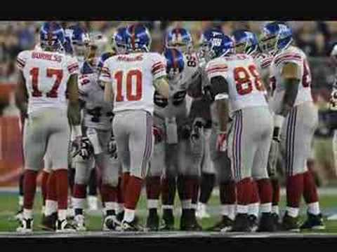 New York Football Giants - Super Bowl XLII Champions