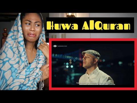 Maher Zain - Huwa AlQuran   ماهر زين - هو القرآن (Music Video & On-Screen Lyrics)   Reaction