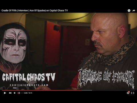 Cradle Of Filth | Interview | Ace Of Spades | on Capital Chaos TV mp3