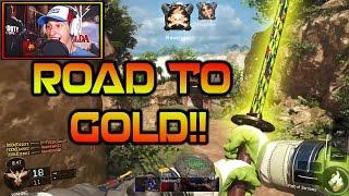 BO3 NEW KATANA KILLSTREAK!! Road To Gold Camo New Path of Sorrows #1