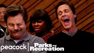 Take Me Out to the Ball Game - Parks and Recreation (Episode Highlight)