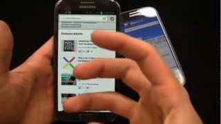 Samsung Galaxy Note II vs. Samsung Galaxy S III Dogfight Part 2
