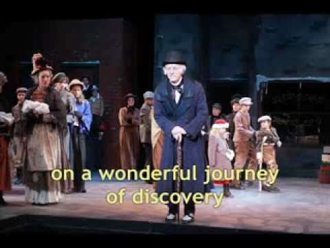 A Christmas Carol musical from ITMSHOWS.COM