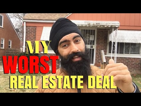 My WORST Real Estate Investment Deal - A Nightmare Property | Real Estate Investing 101
