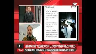 Arranca Perú y los riesgos de la corrupción en obras públicas