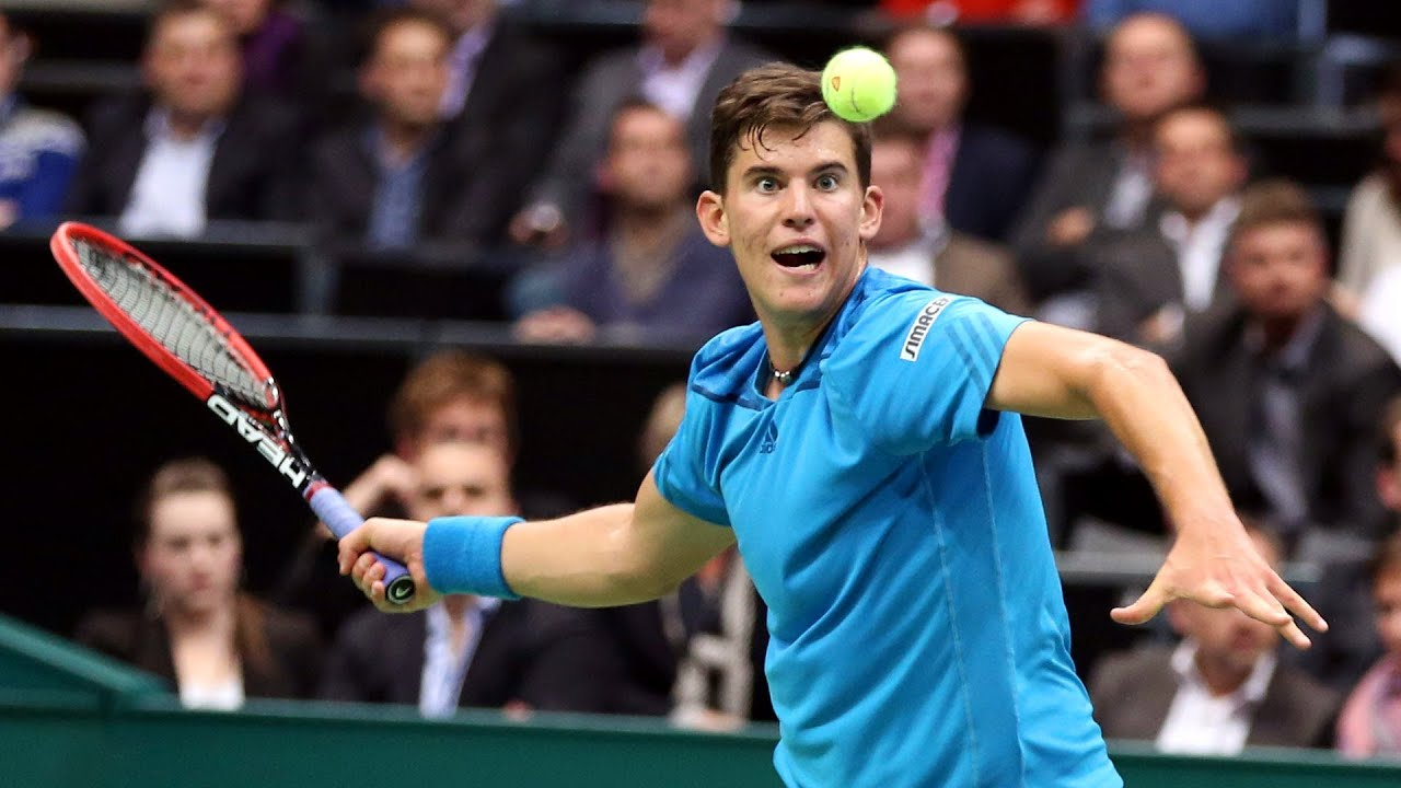 Shot of the day: Dominic Thiem - YouTube