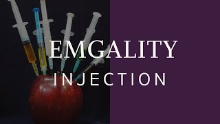 How to Inject Emgality and STOP Migraines -- REAL Injection