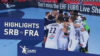 Highlights | Serbia vs France | Men's EHF EURO 2018