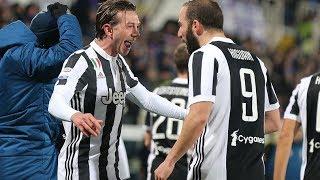 Fiorentina - Juventus 0-2 (09.02.2018) 5a Ritorno Serie A (Ampia Sintesi).