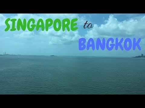 Getting from SINGAPORE to KUALA LUMPUR to BANGKOK | Singapore travel