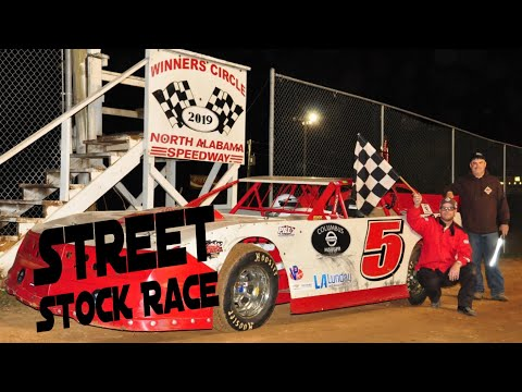 "STREET STOCK RACE ""North Alabama Speedway ""🏁🏁🏁"