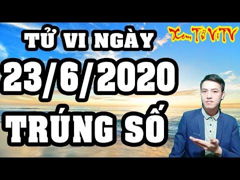 Tử Vi Hàng Ngày 23/6/2020 Con Giáp Trúng Số Độc Đắc Khiến Thiên Hạ Ngỡ Ngàng.