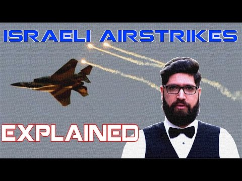Israeli Airstrikes Explained, Israel supports ISIS! (Segment)