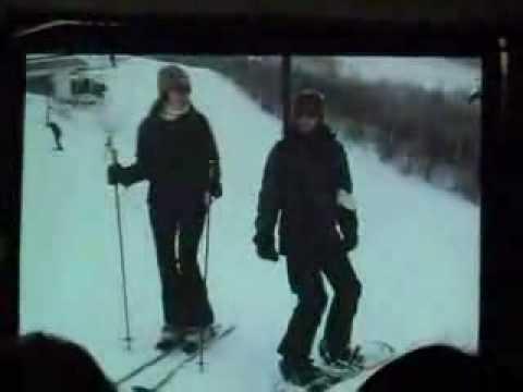Mandy & Gabby Snowboarding  Original Sundance video
