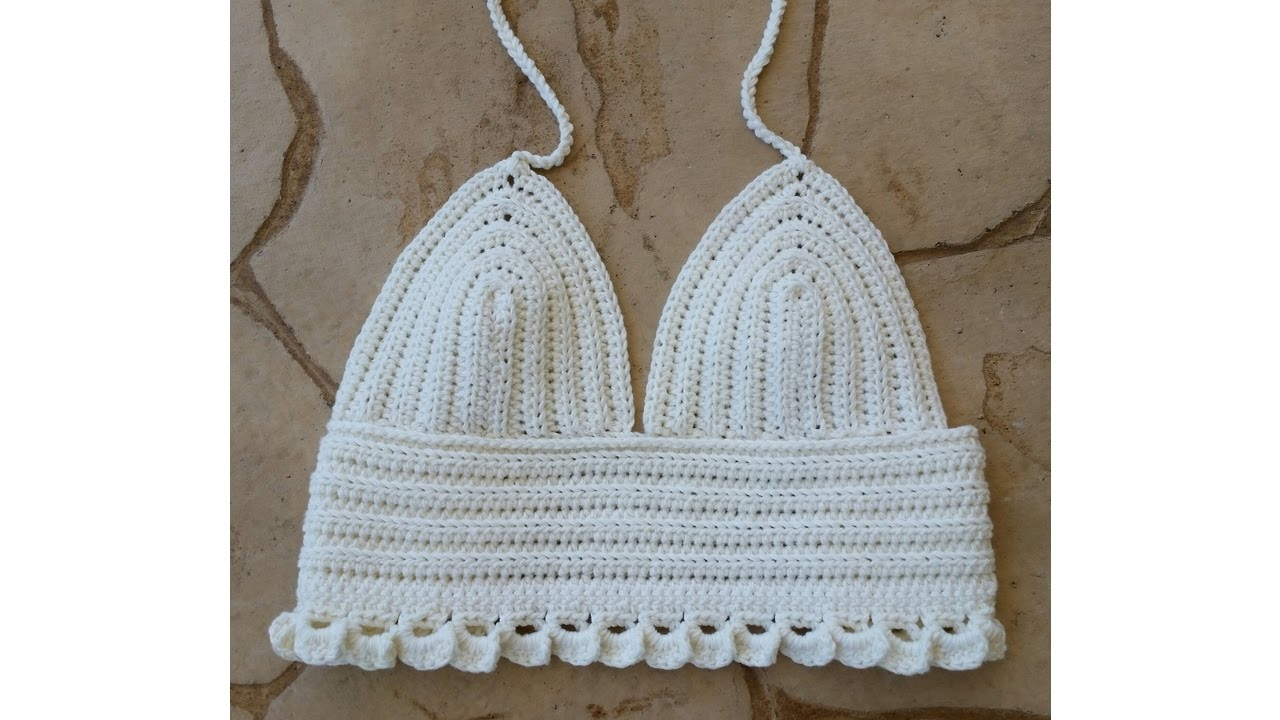 Diy Cute Crochet Crop Top Tutorial Fast Easy Youtube