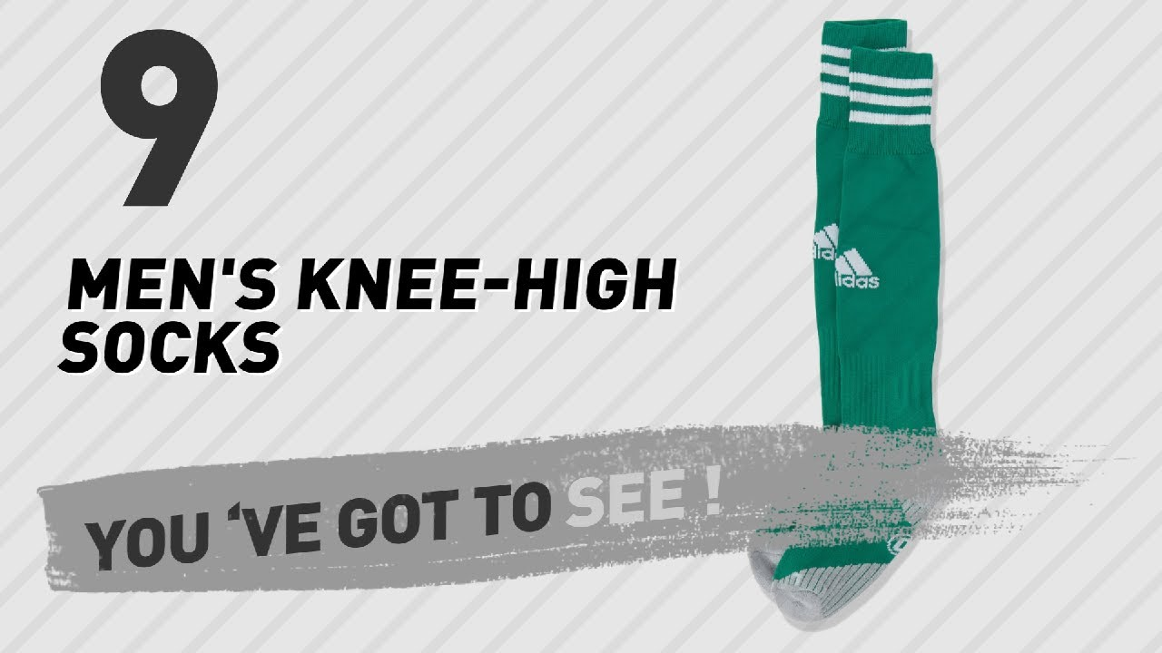 e87b773df Adidas Men s Knee-High Socks    UK New   Popular 2017 - YouTube