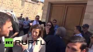 Turkey: Angelina Jolie spends time in Midyat for World Refugee Day