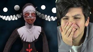 LA VERDADERA HISTORIA DE LA MONJA... [CREEPYPASTA] Evil Nun (Horror Game) Reacción