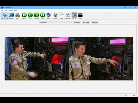 Convert a 2D movie to 3D in 3DCombine